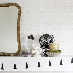 This DIY garland is a super easy way to add a little holiday spirit...in a simple, modern way!