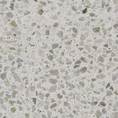 Hvit slipt og polert Lysitt Hellvikstein - steinstørrelse < 30 mm