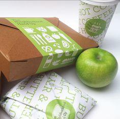 Food Packaging - THE NEIGHBORHOOD HAND UP by Casandra Straus, via Behance