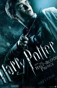 11x17 Inch This Harry Potter and the Half-Blood Prince movie poster features Harry Potter with his wand. Get it now at http://harrypottermovieposters.com/product/harry-potter-and-the-half-blood-prince-movie-poster-style-d-11x17-inch-mini-poster/