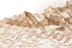 Elisa Strozyk wooden geometric textile
