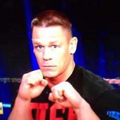 John Cena! Not a wwe fan, but this is a cool shot!