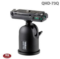 90.00$  Buy here - http://ali4k2.worldwells.pw/go.php?t=32557744461 - Free shipping! Velbon Aluminum BALL Head QHD-73Q for DSLR Camera Tripod 90.00$
