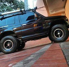 Offroad pajero Mitsubishi Pickup, Mitsubishi Shogun, Mitsubishi Pajero, Montero 4x4, Montero Sport, Pajero Off Road, Pajero Io, Jeep Zj, Roof Rack