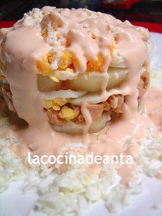 Ensalada de patata Bon Appetit, Eggs, Cooking, Breakfast, Healthy, Recipes, Food, Quinoa, Buffet