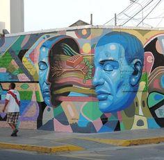 Street Art by the artist Decertor #art #mural #streetart