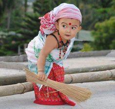 Criança indiana