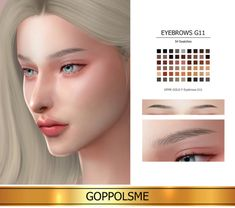 GOPPOLS Me Sims 4 Mods Clothes, Sims 4 Clothing, Sims 4 Cas, Sims Cc, Sims 4 Cc Eyes, The Sims 4 Skin, The Sims 4 Cabelos, Sims 4 Gameplay, Sims 4 Cc Makeup