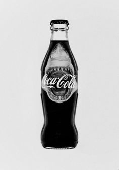 Shark coke bottle