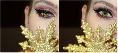 CROSSING BEAUTY: HOLIDAY SEASON INSPIRED MAKEUP △△△ BURGUNDY SPARKLE