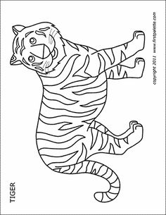 Pin on Printable Animal Coloring Pages