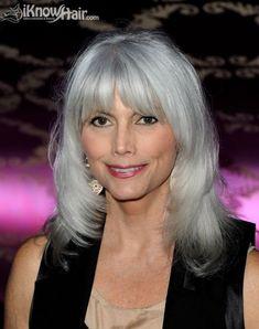 Emmylou Harris. Gray Hair Styles