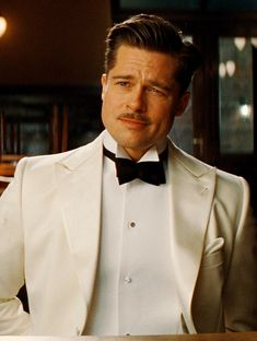 Brad Pitt. Please like http://www.facebook.com/RagDollMagazine and follow @RagDollMagBlog @priscillacita