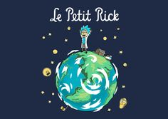 The Little Grandpa T-Shirt - Rick and Morty T-Shirt is $11 today at TeeFury!