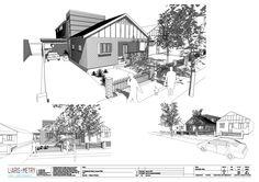 A modern bungalow
