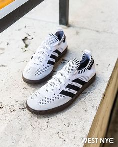 2c0cd9fd1a Adidas Samba goes Primeknit for the summertime. Truly a perfect summer shoe