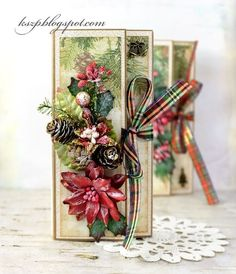 Chocolate Christmas Cards   Wild Orchid Crafts   Bloglovin'