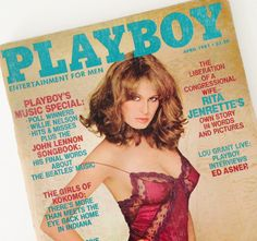 🔺ADULTS ONLY 🔺 Vintage Playboy Magazine April 1981, IRS Taxes, Nudity, Topless, Debbie Harry, Liz Wickersham, Lorraine Michaels, Rita Jenrette, Girls of Kokomo, Sexuality, Politics, Ed Asner  👁 → etsy.com/listing/521380261  :: STAY IN TOUCH w/ Museum 83 ::  etsy ❍ etsy.com/shop/Museum83 facebook ▷facebook.com/museum83 twitter ❍ twitter.com/museum_83 pinterest ▷pinterest.com/museum83
