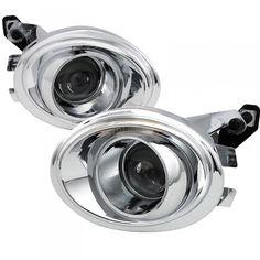 Spec-D LFP-E4699 | 2006 BMW M3 Chrome/Clear Projector Fog Lights for Coupe