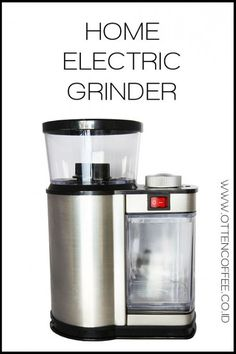 HOME ELECTRIC GRINDER | OttenCoffee - Mesin Kopi , Coffee Grinder , Barista Tools , Kopi Indonesia