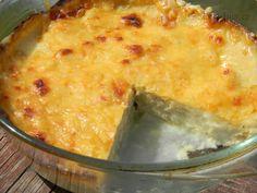 Květákový sýrový zapečený kastrůlek - Choufleur au Gratin