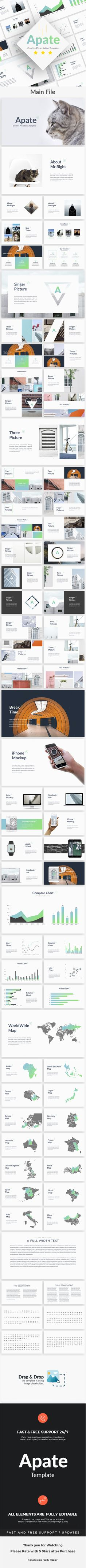Apate - Creative Powerpoint Template