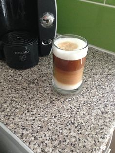 Costa Latte from my Tassimo