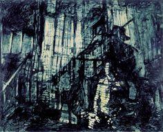 Se Io Fossi Te 1989 oil on canvas  cm. 130x160