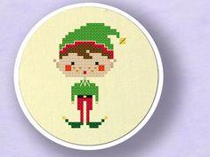 Happy Christmas Elf Boy.