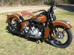 1937 Harley Davidson ULH 80 cu. in.