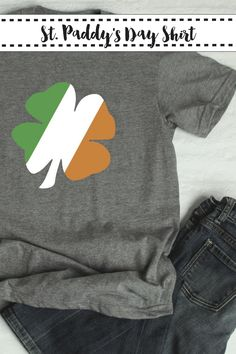 Make these fun St. Paddy's Day Shirts with the SVG Files from Everyday Party Magazine #SVG #SVGSaturday #StPatricksDay