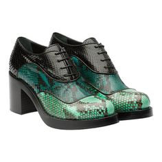 Miu Miu e-store · Shoes · Lace Ups · Lace Up 5E066A_3M02_F0JJ0_F_070