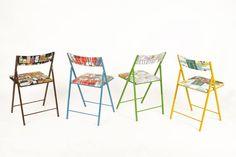 Las divertidas sillas de inspiración mediterránea