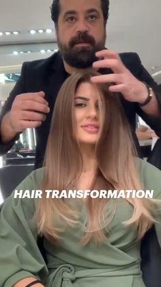 Gorgeous Hair Color, Cool Hair Color, Hair Cutting Techniques, Blonde Hair Looks, Hair Transformation, Hair Videos, Hair Today, Balayage Hair, Hair Hacks