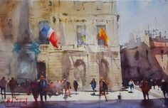 Alvaro Castagnet watercolor
