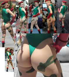 Cosplay -Cammy Butt Collection