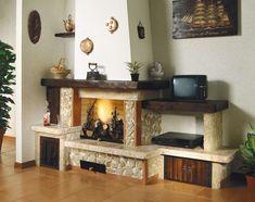 127 fantastiche immagini su Camini | Fire places, Corner fireplaces ...