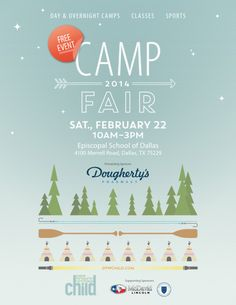 Free event on Saturday 02/22/2014. Come out and see all of the Dallas Summer Camps and have some great food at the food trucks!
