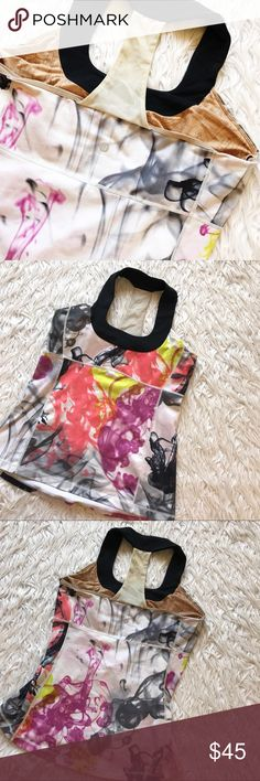 • Lululemon • Colorful Smoke Tank Used condition with pilling lululemon athletica Tops Tank Tops