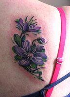 22 Best African Violet Tattoo Images Violet Tattoo African Violet