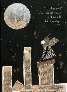 Pamela Zagarenski-- the little prince inspired collage illustrations Collages, Collage Illustrations, Mixed Media Collage, Collage Art, Photocollage, Stars And Moon, Book Illustration, Beautiful Words, Drawings