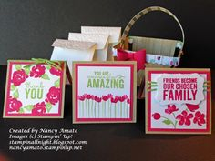 Stampin' All Night: A-Tisket, A-Tasket.....I love the Berry Basket!