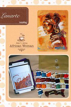 Lanarte african woman