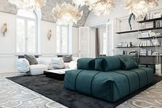 Luxury doesn't have a single meaning – a luxurious interior could be ornate and extravagant, or subdued and subtle. Details like material quality and design s