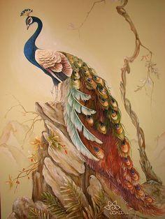 Картинки с павлинами | Творческая мастерская Марины Трублиной