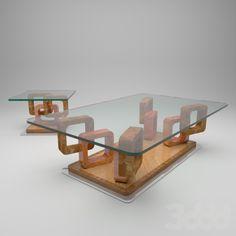 Coffe table  Chamfer