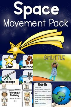 Camp Games and Activities Planets Activities, Space Activities, Movement Activities, Music Activities, Therapy Activities, Infant Activities, Preschool Activities, Therapy Ideas, Space Games For Kids