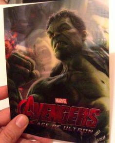 Avengers Age of Ultron HULK 3D FLIP effect Lenticular Card New
