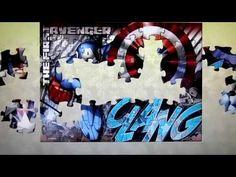 MARVEL AVENGERS Puzzle Games Play Rompecabezas De Captain America | quebra-cabeça