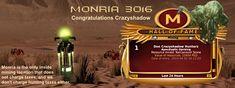 Monria   Congratulations Crazyshadow on your 10k+ Mining Claim   Monria